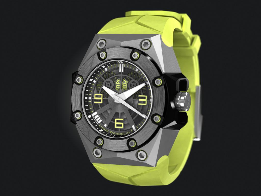 wLINDE-WERDELIN_Oktopus_II_Titanium_Yellow_Persp2