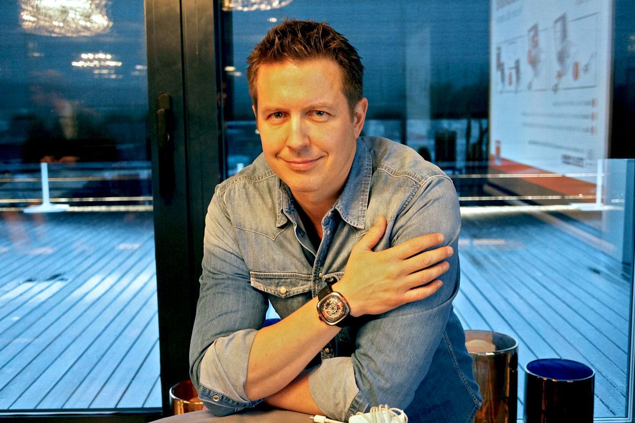 Tidssonen møtte Daniel Niederer på The Thief i Oslo under konferansen Scandinavian Luxury 2014.