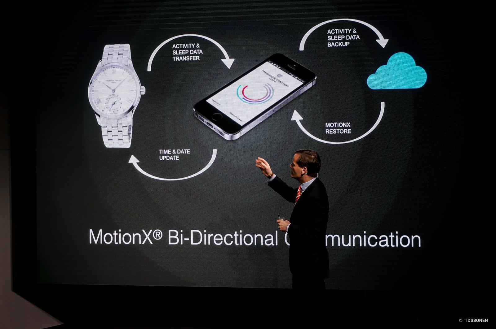 Peter Stas gjennomgår kommunikasjonsmulighetene til Horological Smartwatch-plattformen.