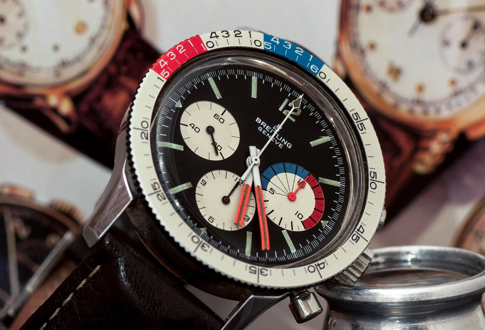 Breitling Co-pilot «Yachting», ref. 7650, Venus kaliber 178 (1969)