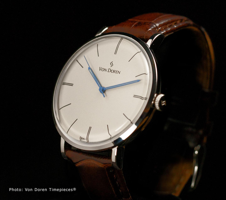 von-doren-watch-antique-white-sward-silver