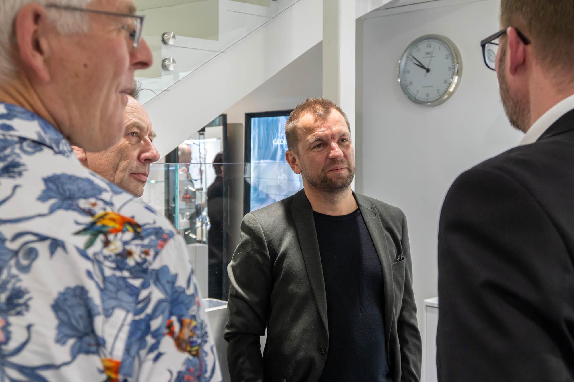 Rune Bruvik var tilstede på Guttekveld.